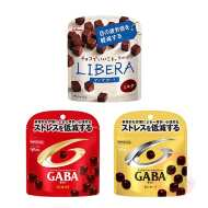 LIBERA Eye Support 40 г & Mental Balance Chocolate GABA Milk 51 г & Mental Balance Chocolate GABA Bitter 51 г, х 9 шт