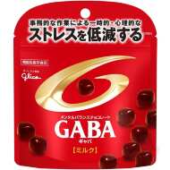 Glico Mental Balance Chocolate GABA Молочный шоколад с ГАМК, 51 гр х 10 шт