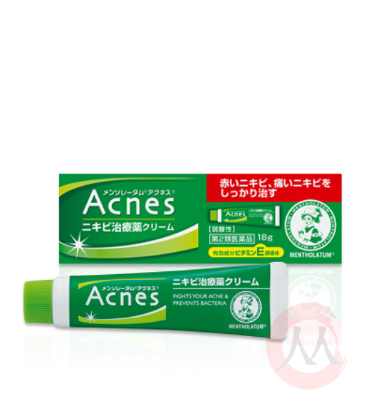 Rohto Mentholatum Acnes Treatment cream Крем против акне, 18 гр