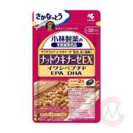 Kobayashi Natto Kinase EX Наттокиназа и Омега 3, 60 капсул